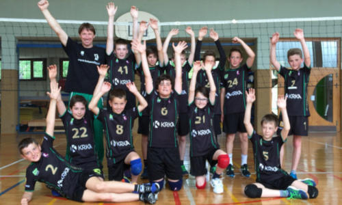 Tudi mlajši dečki na zadnjem turnirju sezone prvič zmagali