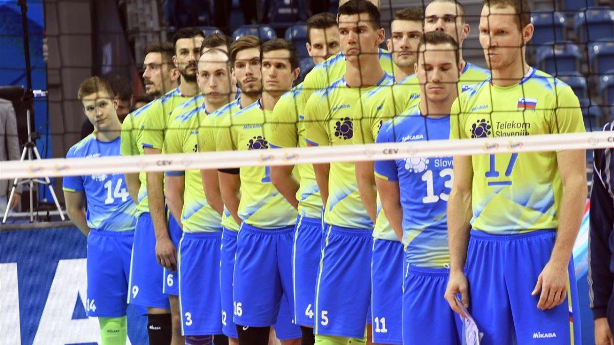 Slovenski odbojkarji izpadli v četrtfinalu
