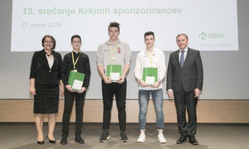 V Krki razglasili mlade talente 2018