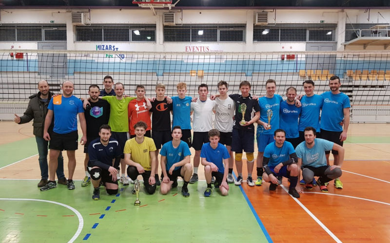Mlada ekipa Krke prvaki Rekreacijske lige v odbojki 2019/20