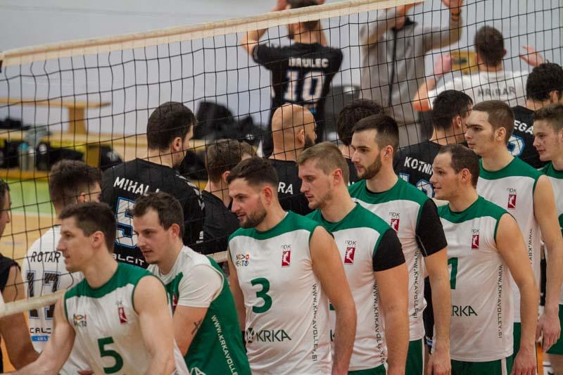 Zmaga navkljub dobri igri Krke odšla v Kamnik