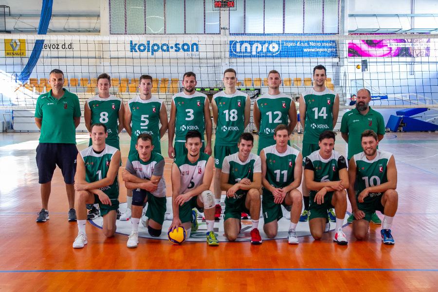 Moški odbojkarski klub Krka, sezona 2019-20